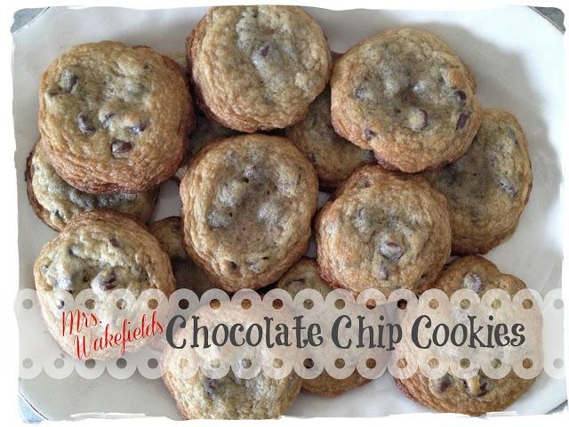 ... : My Long Easter Weekend plus Mrs. Wakefields Chocolate Chip Cookies