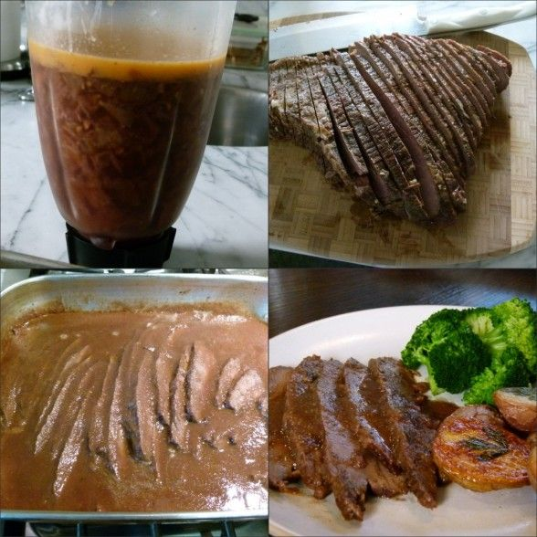 Onion-braised grass-fed beef brisket | My Recipes | Pinterest