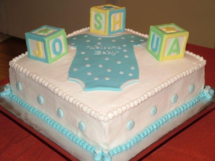 Baby Shower Block Cake Ideas | Building Blocks Baby Shower Cake http ...