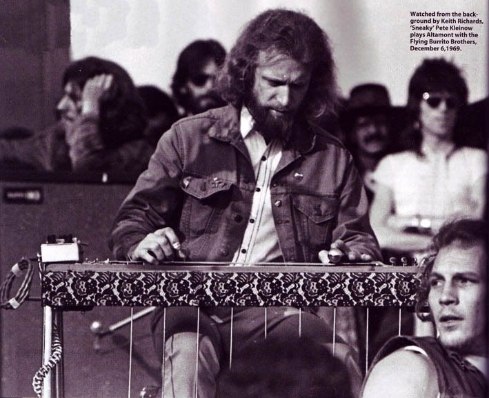 Sneaky Pete quot  Kleinow  Flying Burrito Brothers  Altamont 1969Sonny Barger Gimme Shelter