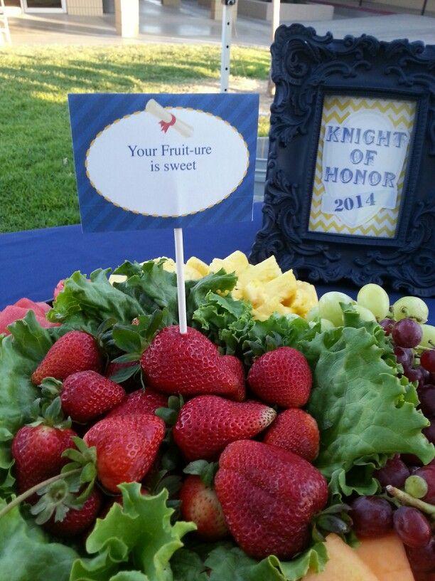 Graduation day party food ideas.   graduation day   Pinterest