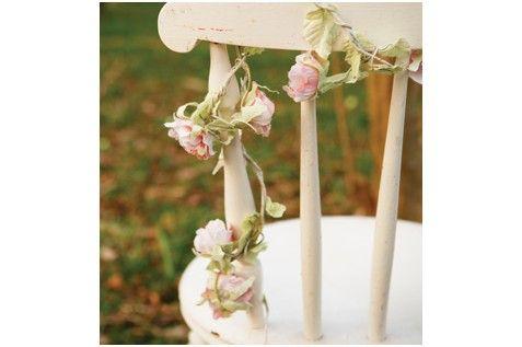 ... Fleurs vintage 180cm 15 roses  Décoration Mariage  Pinter