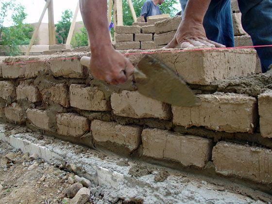 Adobe bricks for the home pinterest for Adobe home builders