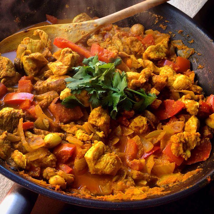 Skinny chicken tikka masala: homemade recipe