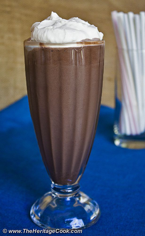 ... Chocolate Milkshake Day! Make your own Old Fashioned #Milkshake with