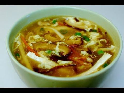 Spicy Hot and Sour Soup | Chinese Recipes | Pinterest