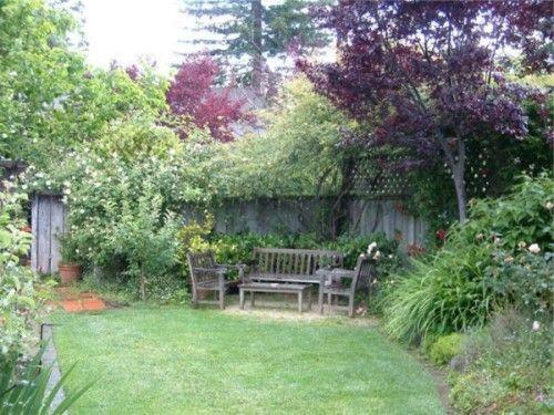 Simple home garden ideas sitting area patio garden for Garden area ideas