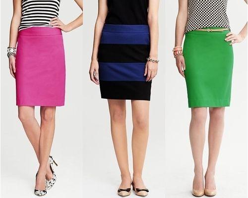 wear to work low waist pencil skirts work