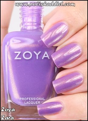 Zoya Zara  Tell me this color is not awesome Zoya Zara