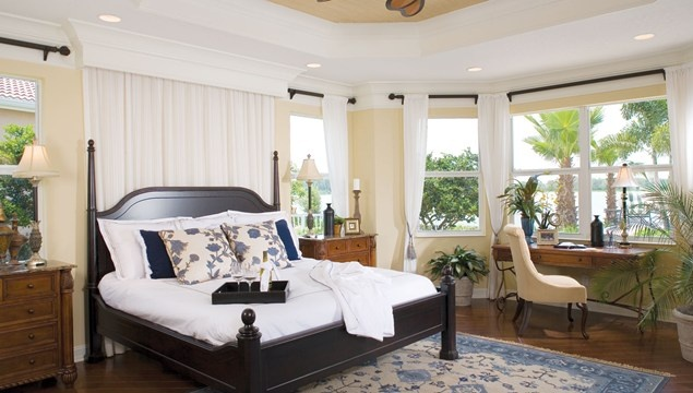 Master Bedroom Window Treatments For The Home Pinterest