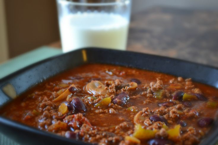 Beer Chili - how can you go wrong with chili and beer?