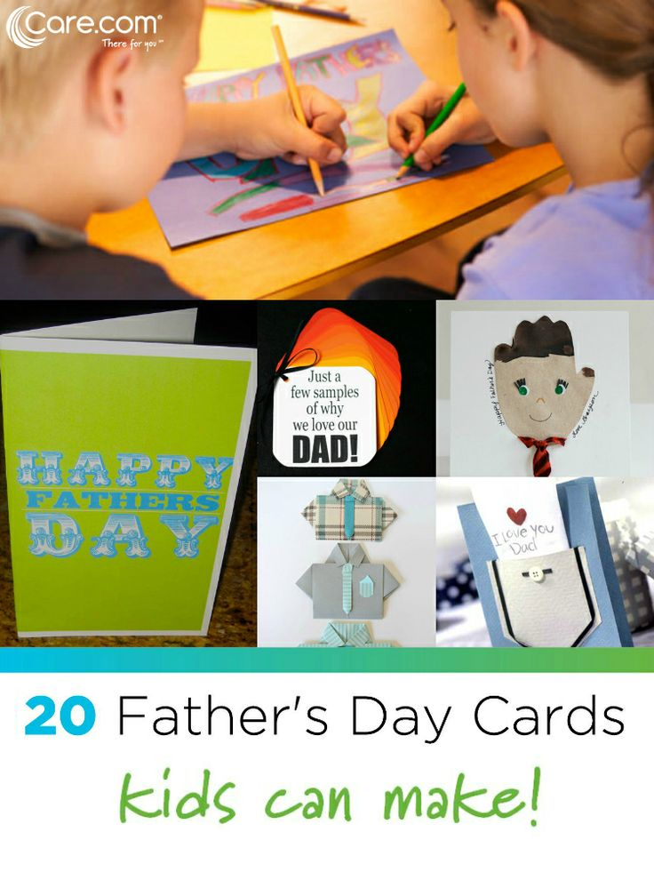 easy father's day card ideas
