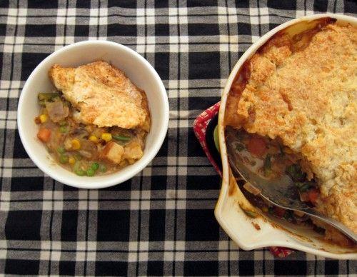 smoked tofu and vegetable pot pie | Food | Pinterest