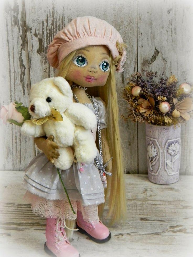 МОИ МЕГА-РАДОСТИ: Девочка с мишкой ...