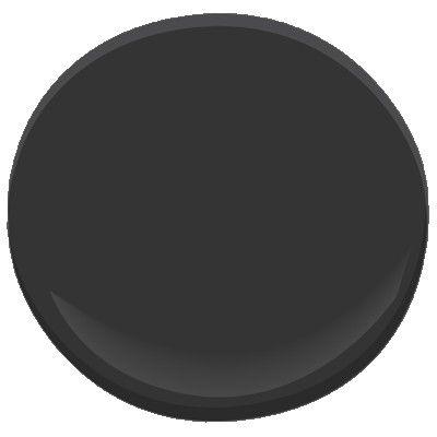 jet black paint by benjamin moore home pinterest. Black Bedroom Furniture Sets. Home Design Ideas