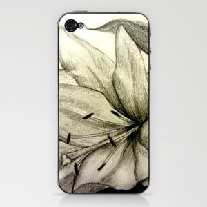 Lily iPhone & iPod Skin by Kristen Willsher | Society6