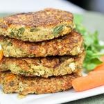 Sweet Potato and Kale Chicken Patties and a Super Healthy Coleslaw ...