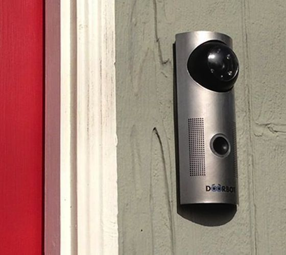 "the door! DoorBot – The WiFi Enabled ""Smart"" Doorbell – $189"