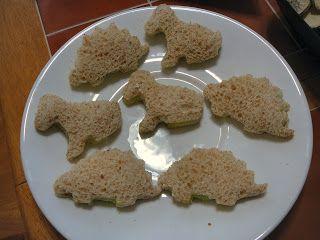 Cucumber Sandwiches III | Momagou's recipes | Pinterest