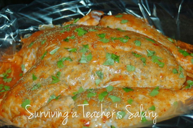 Recipe to Cook your Turkey in Crock Pot or Slow Cooker - SO Easy!