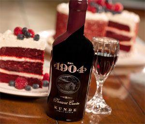 Red Velvet Cake with Raspberries and Blueberries #kundefamilyestate # ...