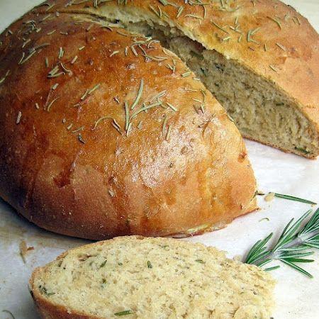 Rosemary Olive Oil Bread | Yummy | Pinterest