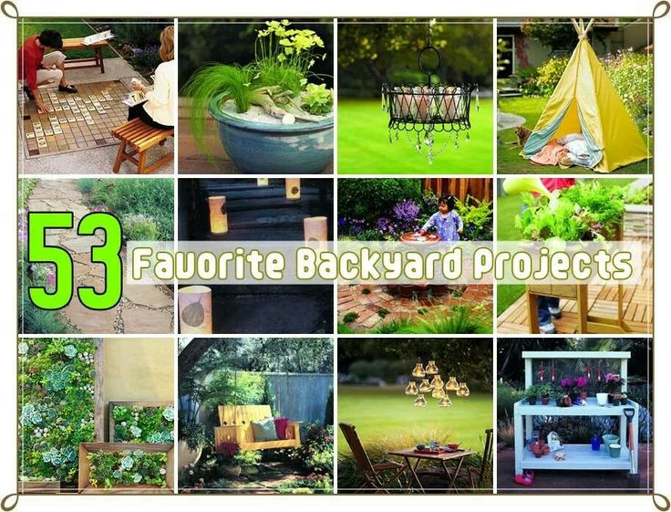 backyard projects cool ideas pinterest