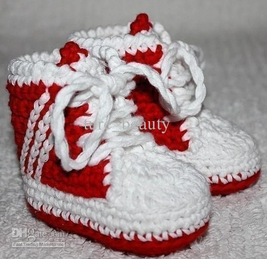 Crochet Pattern Baby Tennis Shoes : Pin by Nancy Flynn on Craft Ideas Pinterest