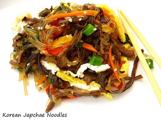 Korean Jap Chae(Sweet Potato Noodle) Stir-Fry...