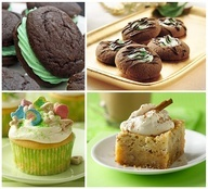 ... Thumbprint cookies, Lucky Charms Cupcakes & Irish Cream Coffee Bars