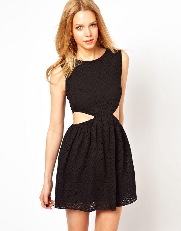 Cut Out Dress Dress Up Pinterest