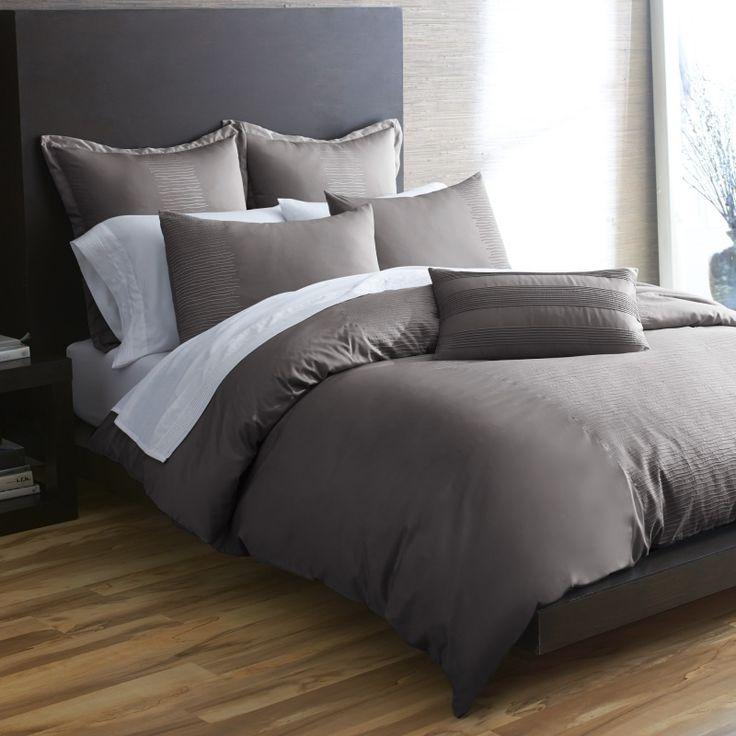 Dark Gray Bedding With Light Walls Bedroom Ideas Pinterest