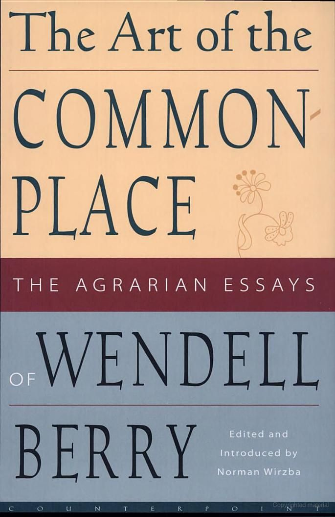 faustian economics essay wendell berry