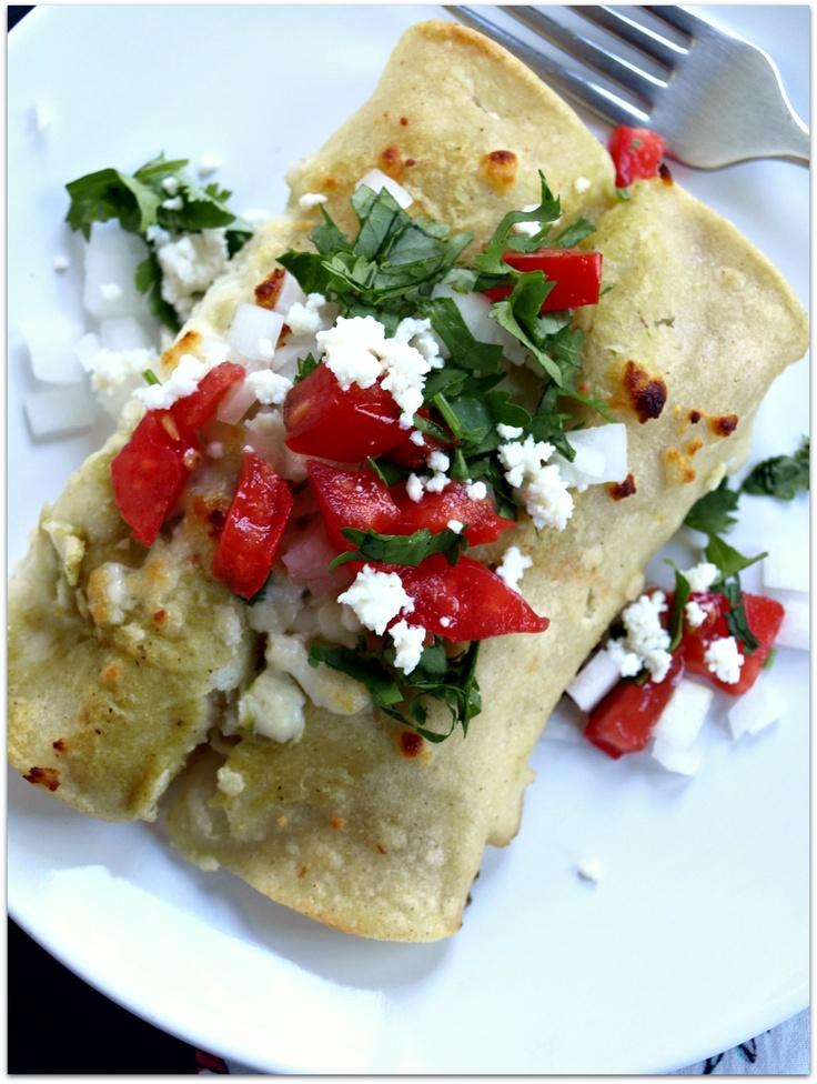Chicken Enchiladas Verde | Food | Pinterest