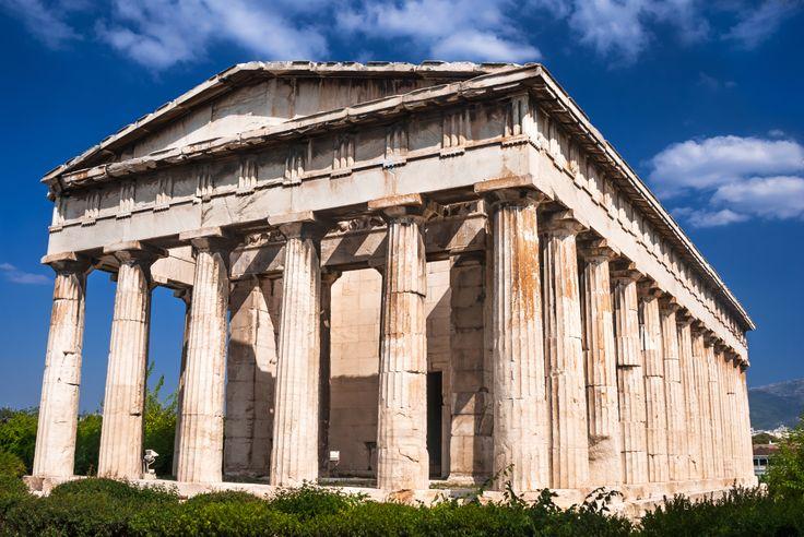 Temple of Hephaestus  Athens  Pinterest