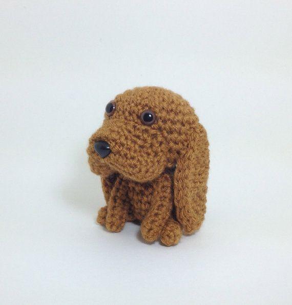 Amigurumi Animals : Bloodhound Amigurumi Dog Stuffed Animal Handmade Crochet ...