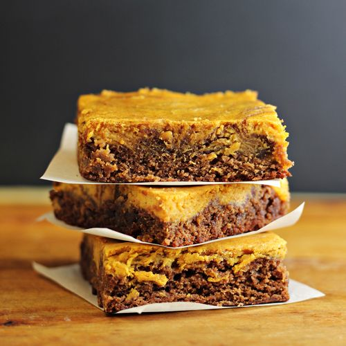 Pumpkin Cheesecake Brownies Ingredients 1 package brownie mix (13x9 ...
