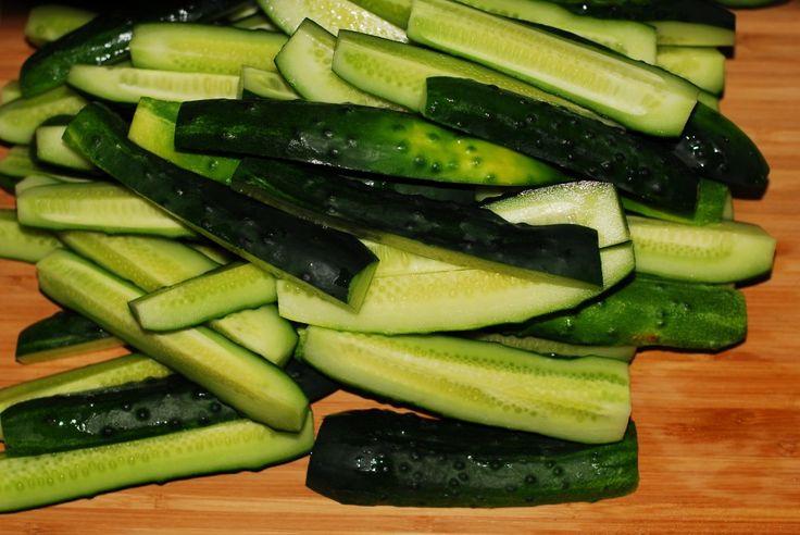 Refrigerator Pickles | Pickle Ideas | Pinterest