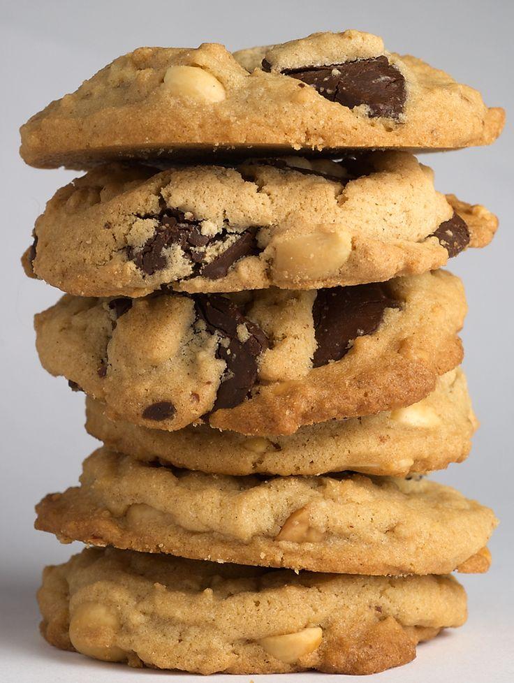 Chocolate Chunk Peanut Cookies combine crunchy peanuts, rich chocolate ...
