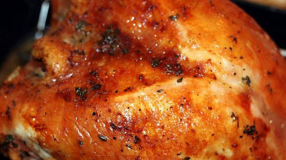 Roast Turkey Breast with Herb Butter ~ Rachael Ray, best most moist ...