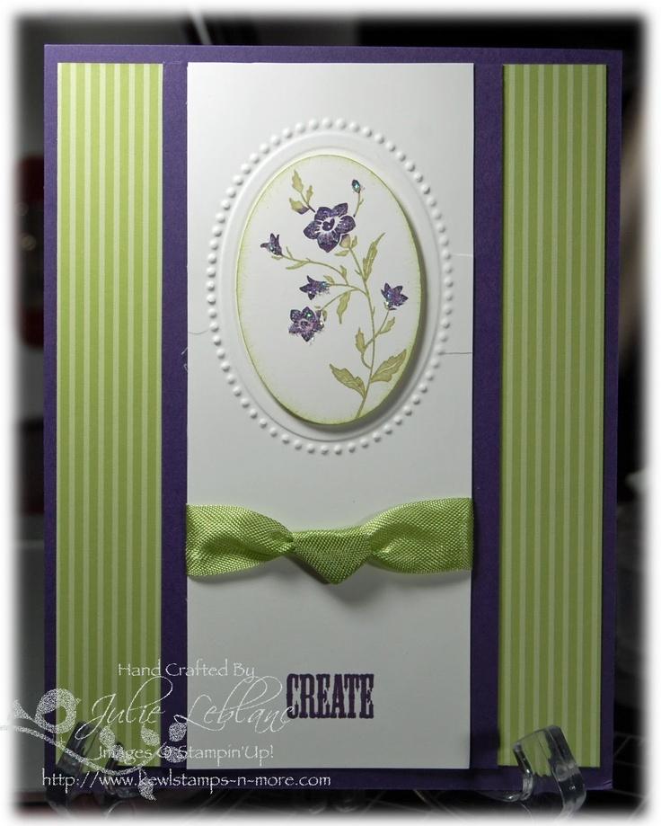 Clean & Simple. Set SU Charming Stamp Set