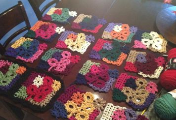 CRAZY PATCHWORK CROCHET AFGHAN PATTERN FREE CROCHET PATTERNS