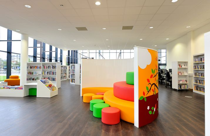 Innovative Library Classroom : Pin by demco interiors on library design