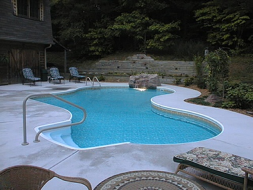 Pin by barrington pools on freeform pool designs pinterest for Free form swimming pool designs