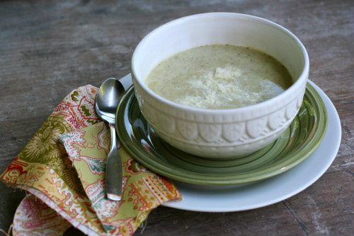 Cream of Broccoli Soup | Vegetarian Noms | Pinterest