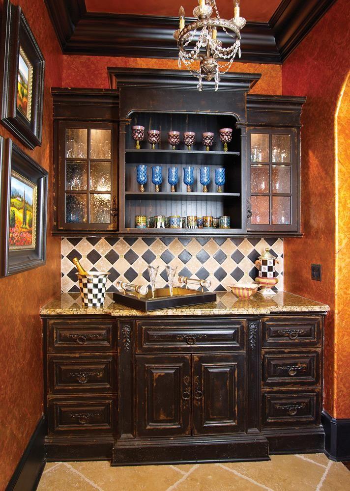 Butler s pantry kitchen pinterest for Butler kitchen designs