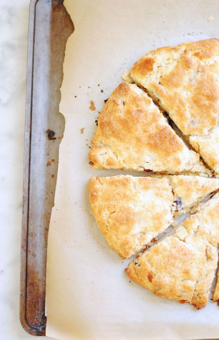 cherry almond scones | What's for breakfast? | Pinterest