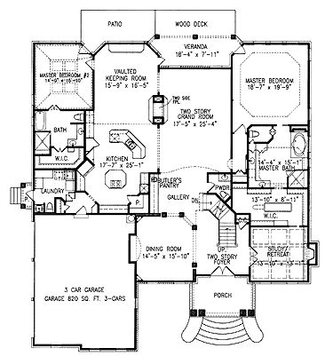 Floor Plan With 2 Master Suites Almost Perfect House