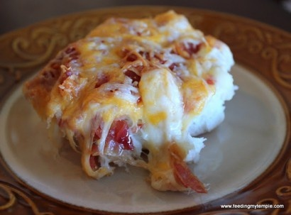 Cheesy Bacon Biscuit Pull-Aparts | cool stuff | Pinterest