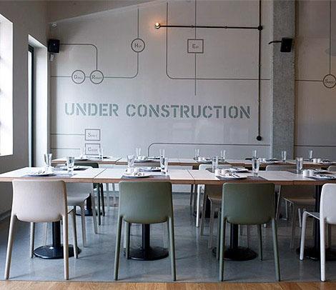 industrial style / restaurant